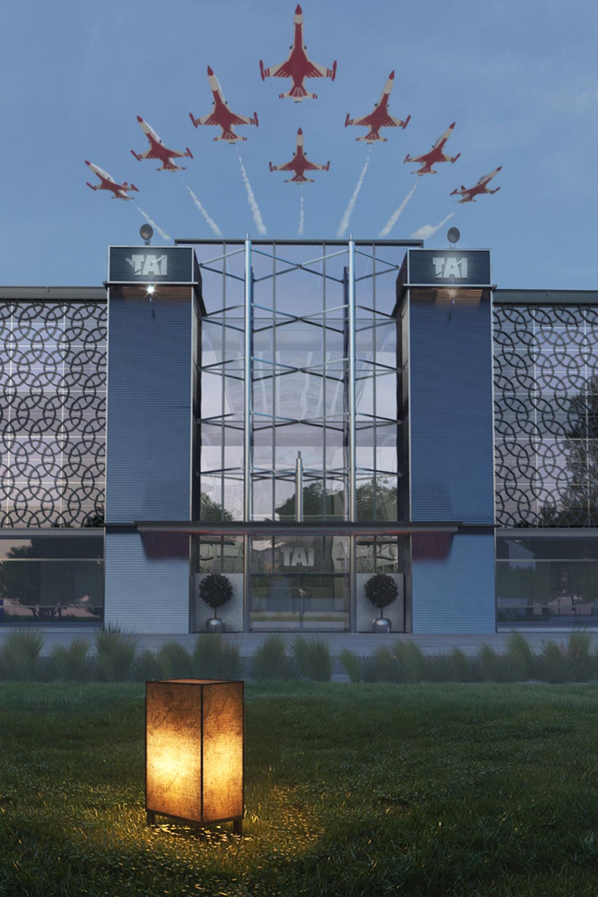 TAI/TUSAŞ Akademi ve İK Binası